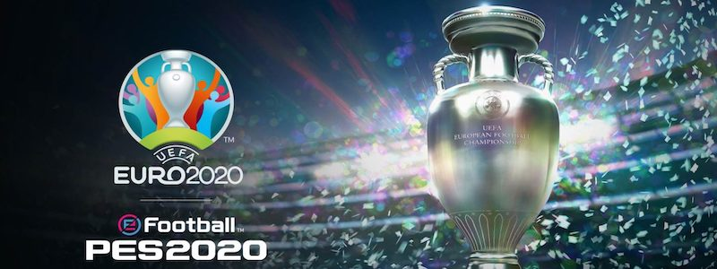 Euro 2020 sur eFootball PES 2020