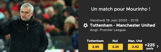 Cotes Tottenham Manchester United