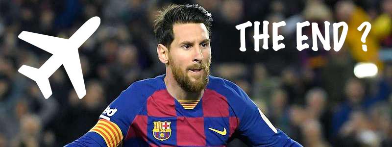 Messi départ du Barça