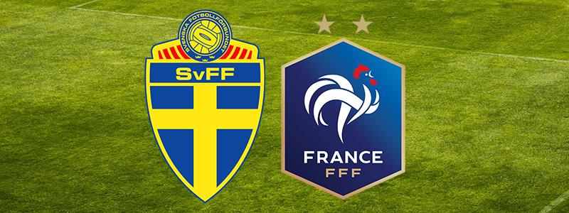 Pronostic Suède France