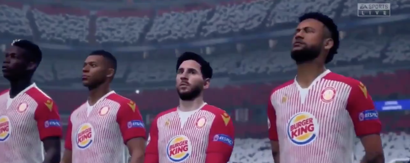 Stevenage FIFA20 Burger King