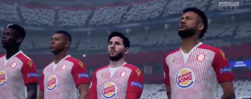 Stevenage FIFA20 Burger King