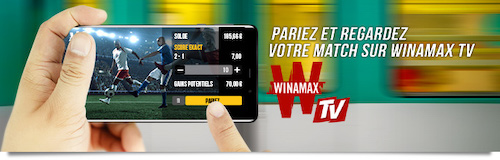 Winamax TV streaming