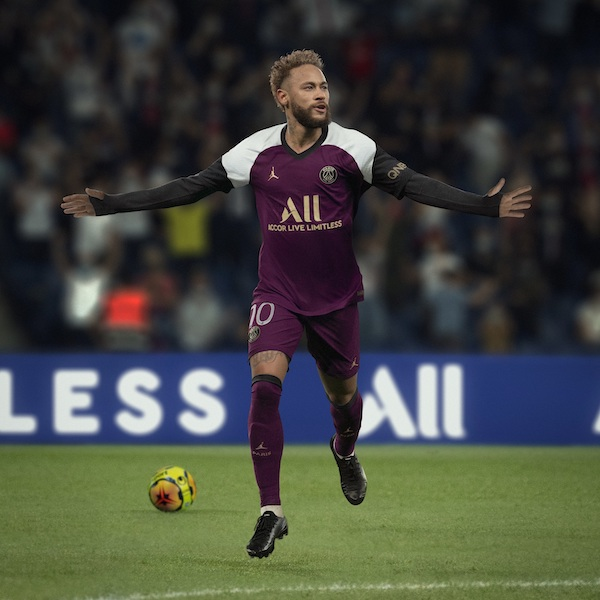 Neymar maillot third PSG 2021