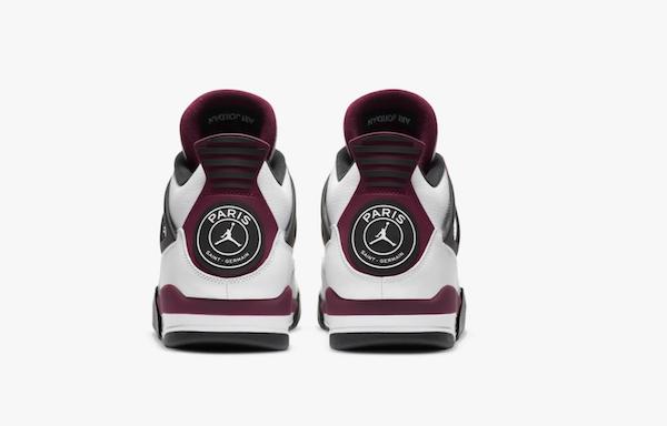 Sneakers Paris Saint-Germain Air Jordan 4