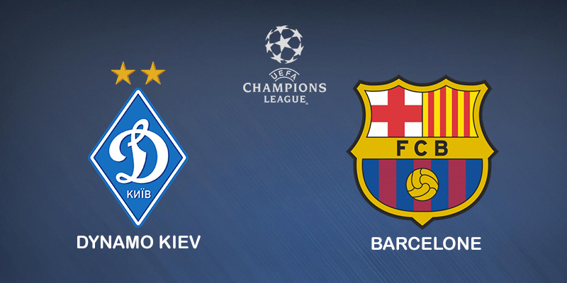Pronostic Dynamo Kiev Barcelone