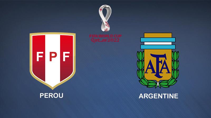 Pronostic Pérou Argentine