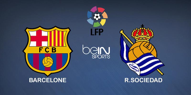 Pronostic Barcelone Real Sociedad