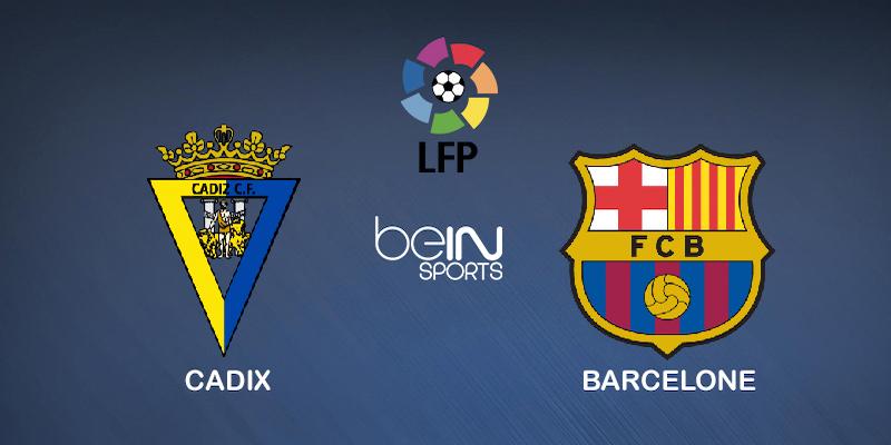 Pronostic Cadix Barcelone