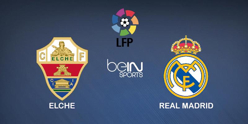 Pronostic Elche Real Madrid