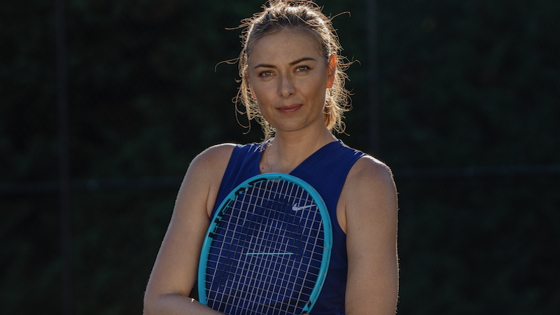 Cours en ligne Maria Sharapova