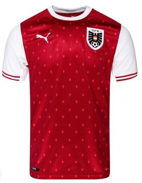 Maillot Autriche Euro 2021