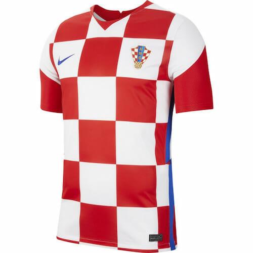 Maillot Croatie Euro 2021