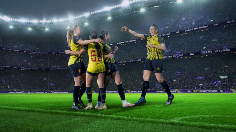 Football Manager football féminin